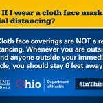 Image for the Tweet beginning: Cloth face masks are not