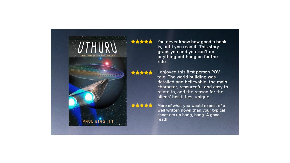 If you love classic adventure #scifi you'll love Uthuru.Pick up a copy and enjoy the ride.  #AmReading #BookReview #mustread #reading #IARTG   #WednesdayWisdom #WednesdayThoughts #WednesdayVibes #writingcommunity #books #Book  #Free on #KindleUnlimited! https://t.co/8ic89LWh2l https://t.co/zRE4ycDuxv