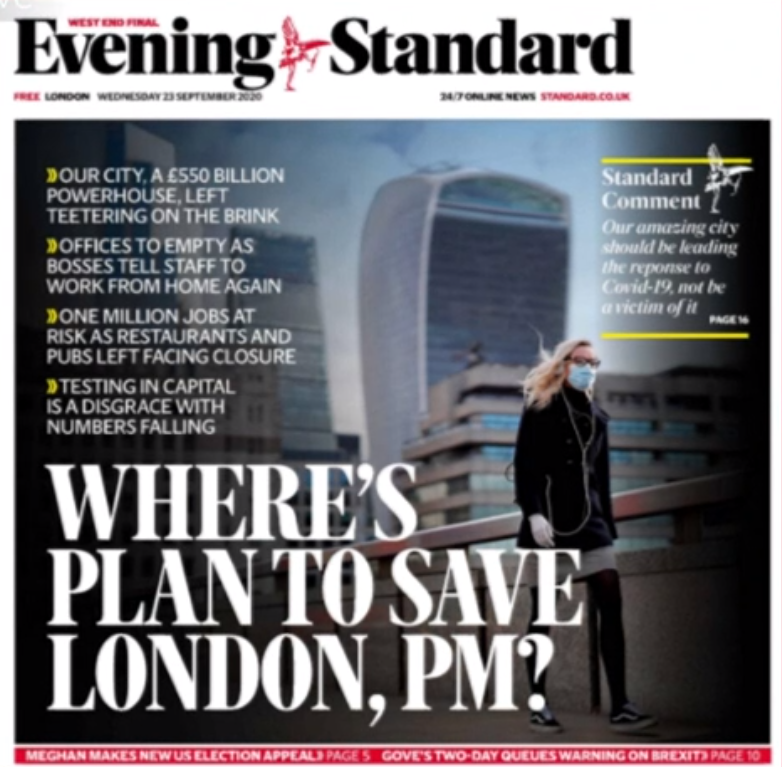 "Best for Britain on Twitter: ""London Evening Standard front page just out.  ~AA… """