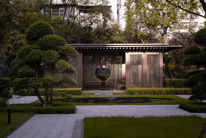 One Central Mansion | Shenzhen IN Lab Design & Consultancy   The design focuses on the urban....