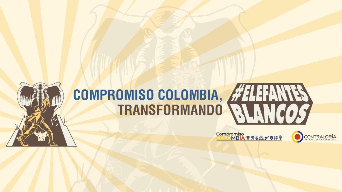 La @CGR_Colombia desarrolla una cruzada para acabar #ElefantesBlancos 🐘 que hay en varias regiones del país, para ello lanza el Registro Nacional de Obras Inconclusas. https://t.co/kWi3aDJsuw