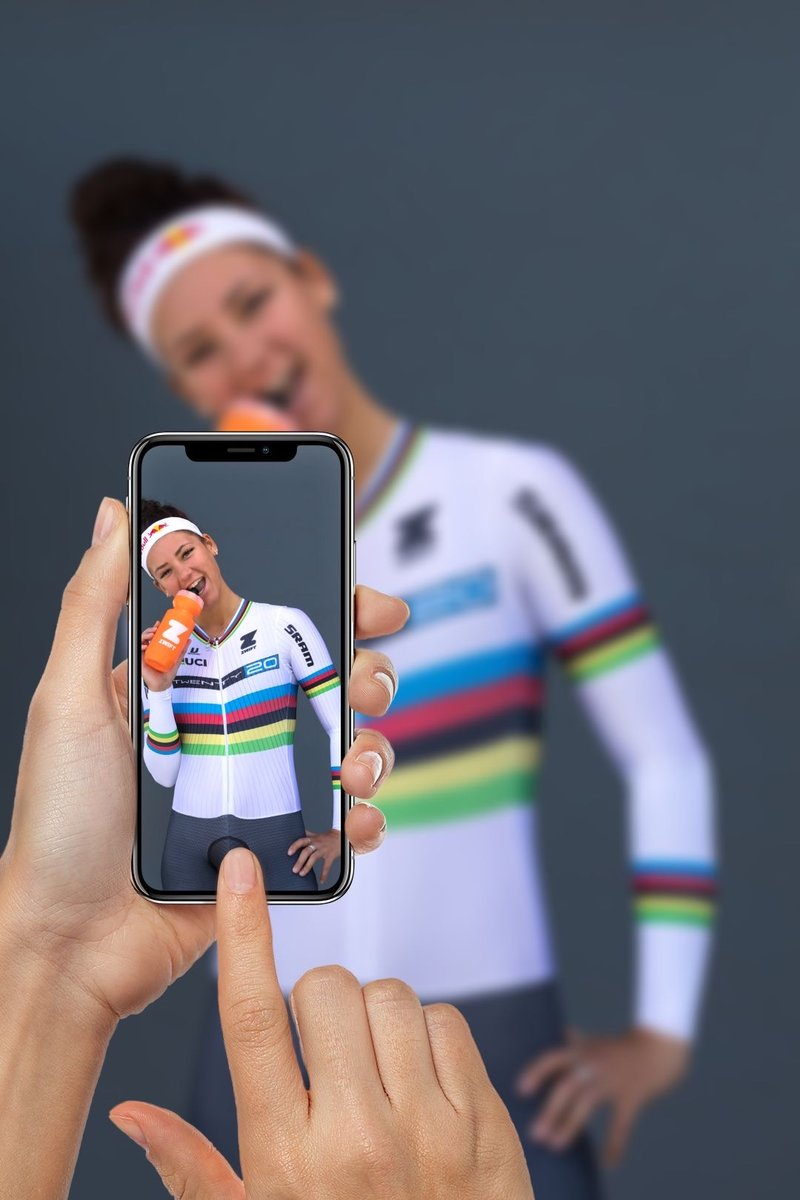 Join us tomorrow to cheer on @chloedygert30 from our weekly @GoZwift ride! 6am Pacific our ride starts and Chloe be defending her rainbows during our ride! Sign up here: https://t.co/kSz6kDGVuM You can watch her race simultaneously  on @NBCOlympicTalk #rideon #zwift https://t.co/Qos4pkzLEW