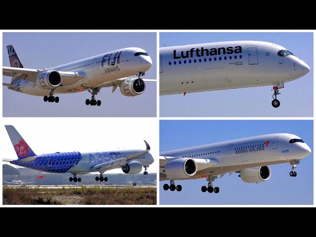 ❤️AIRBUS A350 LOVERS! 💙 4️⃣ A350-941 PLANES LAND ON RUNWAY 24R AT #LAX ON SEPTEMBER 20TH, 2020 - YouTube Link ➡️ https://t.co/URsCrZhycN ⬅️ via @YouTube @flyLAXairport @Airbus @AirbusInTheUS #planespotting #avgeek #airplanes #airliners #airports #airbus #airbusa350 #a350 https://t.co/cOrEmjHkHm