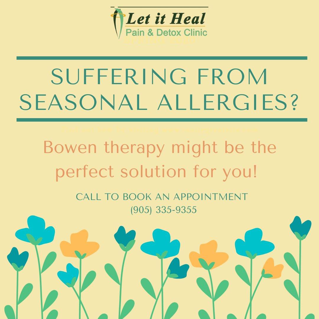 Allergies bothering you?  #dtburlon #bowen #move #workout #heal #letitheal #naturalhealth #detox #burlington #seasonalallergies https://t.co/8tESFuxVFc