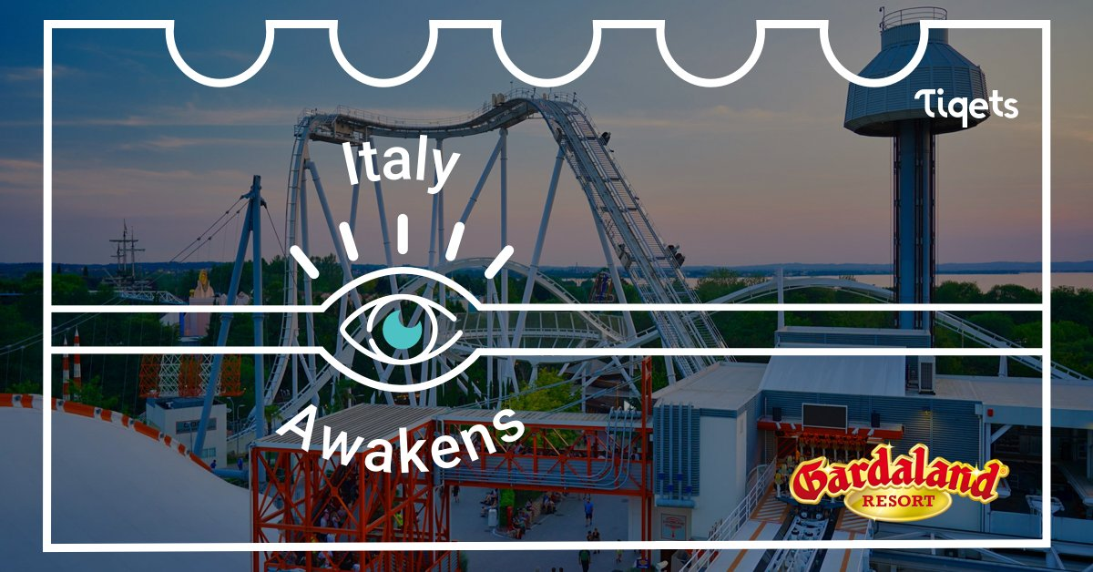 Get ready for a fun ride around @Gardaland! 🎢 From the amusement park and SEA LIFE Aquarium to the first LEGOLAND Water Park in Europe, opening in 2021! #ItalyAwakens 🇮🇹  When? 24 September, 10:00 Rome Time Link: https://t.co/lu489f764p #AwakeningWeeks https://t.co/k1QiDdomGB