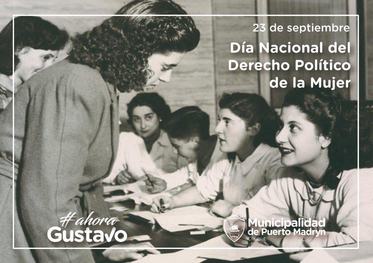 El 23 de septiembre de 1947, gracias a Eva Perón, se promulgó la Ley de #VotoFemenino. Significó una nueva etapa para los derechos políticos de la mujer, pero aún queda un largo camino por recorrer, por eso los convoco a seguir trabajando por una verdadera igualdad de género. https://t.co/dk3EUMWtyy
