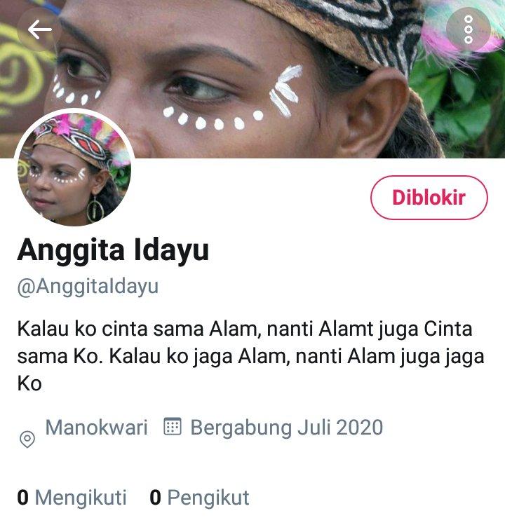 Lebih banyak akun yg berkamuflase seakan-akan mereka orang Papua. Menggunakan nama, marga, serta foto profil utk mengindentifikasi dirinya sebagai orang Papua. Salah satu contoh dari banyaknya akun yg sdh sy blokir, tp akun ini gaya lambat utk ganti nama akunnya 🤣 https://t.co/YMjh9iG7VD https://t.co/5IkQ4tSLd1