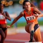Image for the Tweet beginning: Los atletas Sara Gallego y