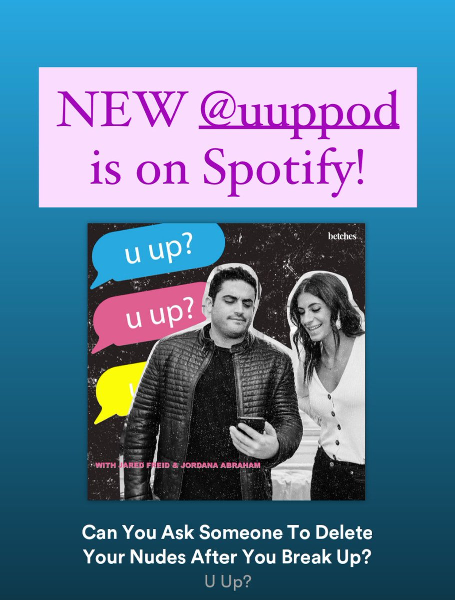 The NEW @uuppodcast is on @Spotify!! open.spotify.com/episode/3FK9e6…