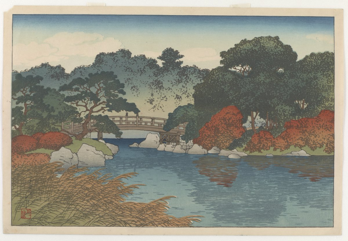 "As seasons change, we do, too! How will we adjust our perspectives to meet each day's demands and needs? #SelfCare builds resilience, practice #Meditation & #Mindfulness, 12:15 pm EDT: https://t.co/UbrM0HKBSj ""Autumn garden"" in our #JapaneseArt collection: https://t.co/iWbtYF3zJh https://t.co/tCngjzDcYw"