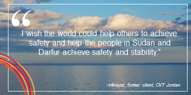 """NEW on our blog! """"I wish the world could help others to achieve safety and help the people in #Sudan and #Darfur achieve safety and stability,"""" writes Hikayat (a pseudonym), in hopes that one day there will be justice and safety.   READ 👉👉 https://t.co/dsTrAkS8Hd https://t.co/O68zYvTyM5"""