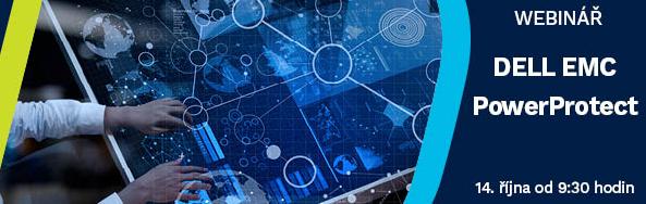 Přijměte pozvání Tech Data na webinář #Dell, kde se dozvíte, co je nového v poslední verzi zálohovacího SW Dell EMC PowerProtect. Připojte se k nám 14. října od 9:30 hodin. Registrujte se zde: https://t.co/efVcBgZ4Qz https://t.co/UW3hXCcdgS