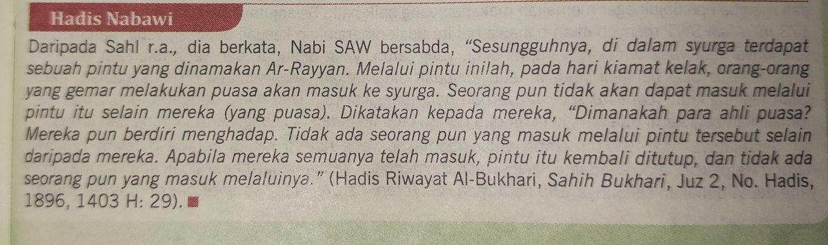 Al-Haramain Halaman: 27 #hadith #puasa https://t.co/JCjJYWdZQU