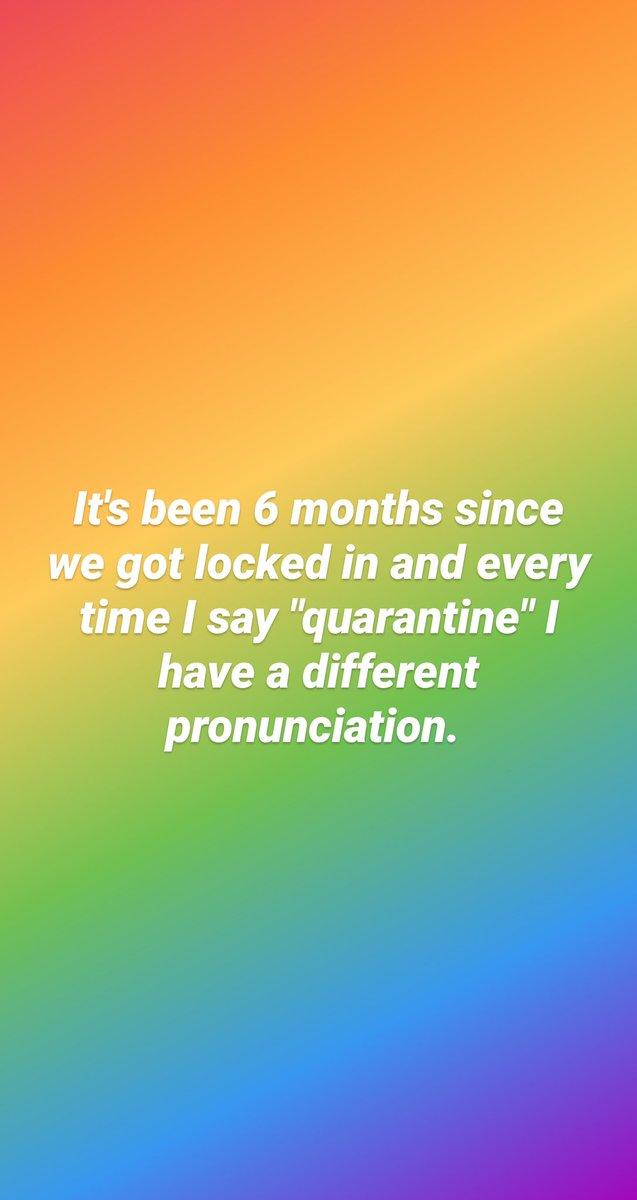 Today's pronunciation was kwarantwan cuz I was feeling French. https://t.co/vXAjrx2p1z