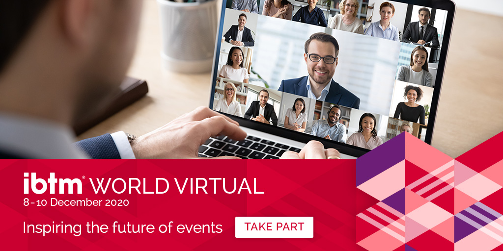 Coming to a computer screen near you: #IBTMWorld Virtual! Meet the world from the safety and comfort of your own home. Access exclusive industry knowledge, liaise with top suppliers and much more all with the touch of a button. #MeetMore https://t.co/o0N7tmwwdG https://t.co/Xzpor9SplJ