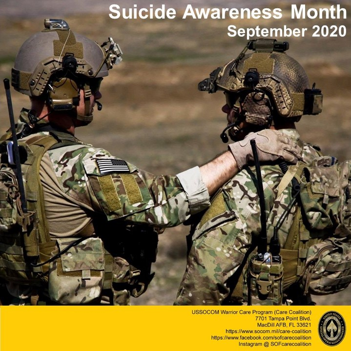 Suicide is tragic and complicated. Knowing the warning signs and where to get help can save lives. If you know a military member or veteran that needs help, call the Military Crisis Line, 1-800-273-8255. https://t.co/klEbtQL1k7
