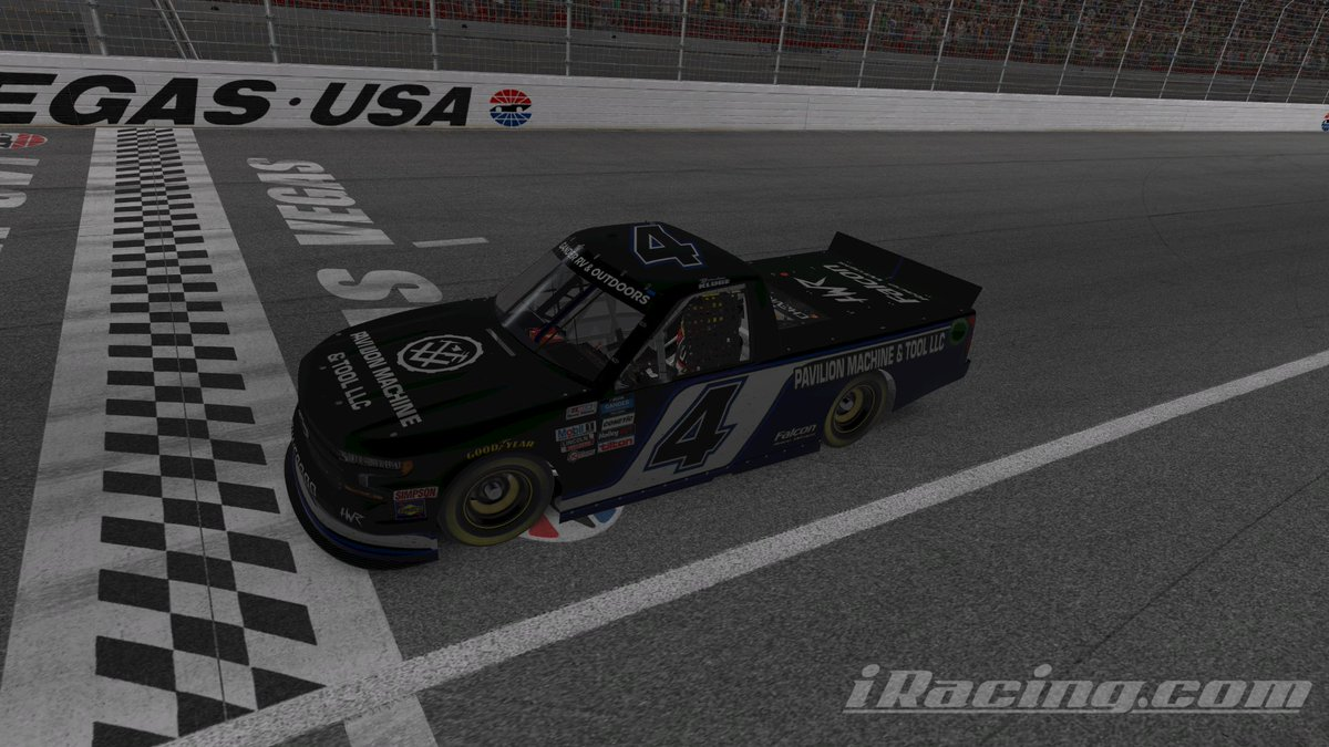 Winning Wednesday's! We're getting pretty good at this @iRacing thing.   #hwracing2020 #esports #iracing #nascar #win #winningwednesday #klugedidntgetwreckedforonce #gopro #chevy #truck #racing https://t.co/mM49gXYxYk