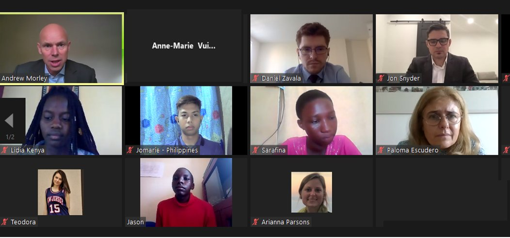 It's been fascinating to hear the hopes and dreams of young people from across the world, as they speak from the heart at this virtual #UNGA event. Such energy and passion to change our world for the better. https://t.co/rg253opuC0