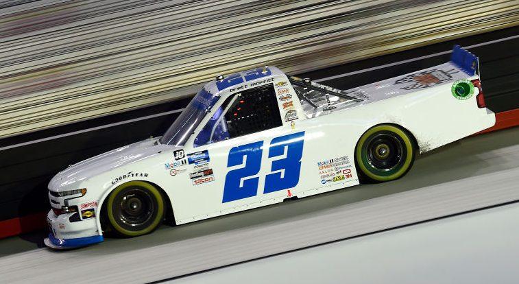 Las Vegas Truck lineup https://t.co/b9wluLGyub #NASCAR https://t.co/1aEUwVSPgJ