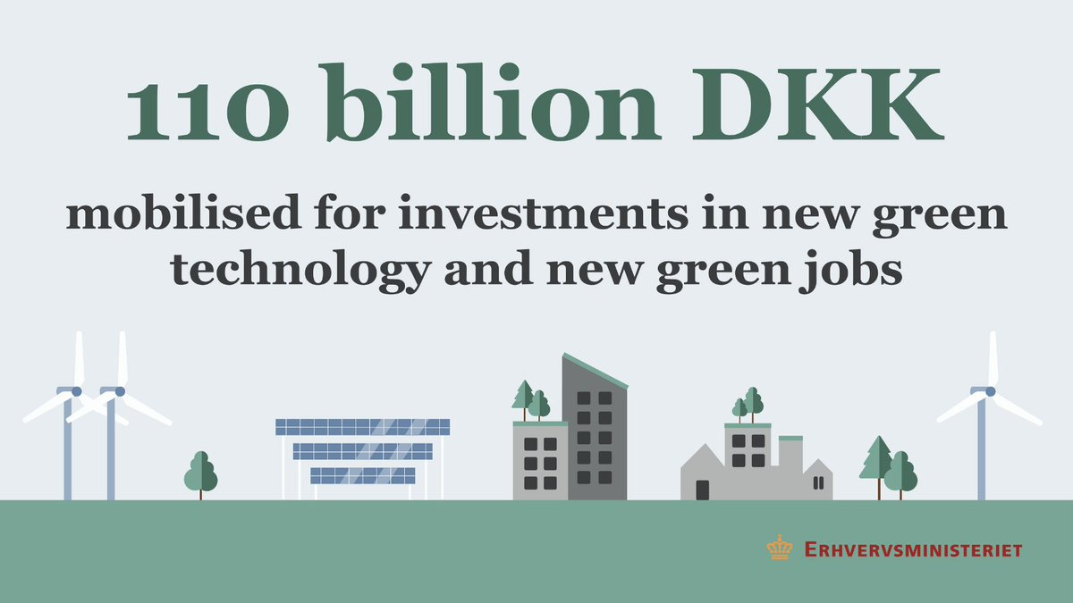 The Danish Government launches a new foundation to invest in green solutions nationally and globally. The foundation will contribute to design and develop tomorrow's sustainable solutions. #DenmarkinUSA #SusDANEability https://t.co/ThwktoUW1P