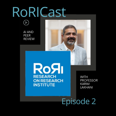 For #PeerRevWk20, our @FunSizeSuze looks back at the last episode of @RoRInstitute's #RoRICast, when Suze and @apDinsmore chatted to @klakhani from @HarvardHBS about #ArtificialIntelligence and #PeerReview: https://t.co/Y2cb25RiPL https://t.co/fElVM8o30L