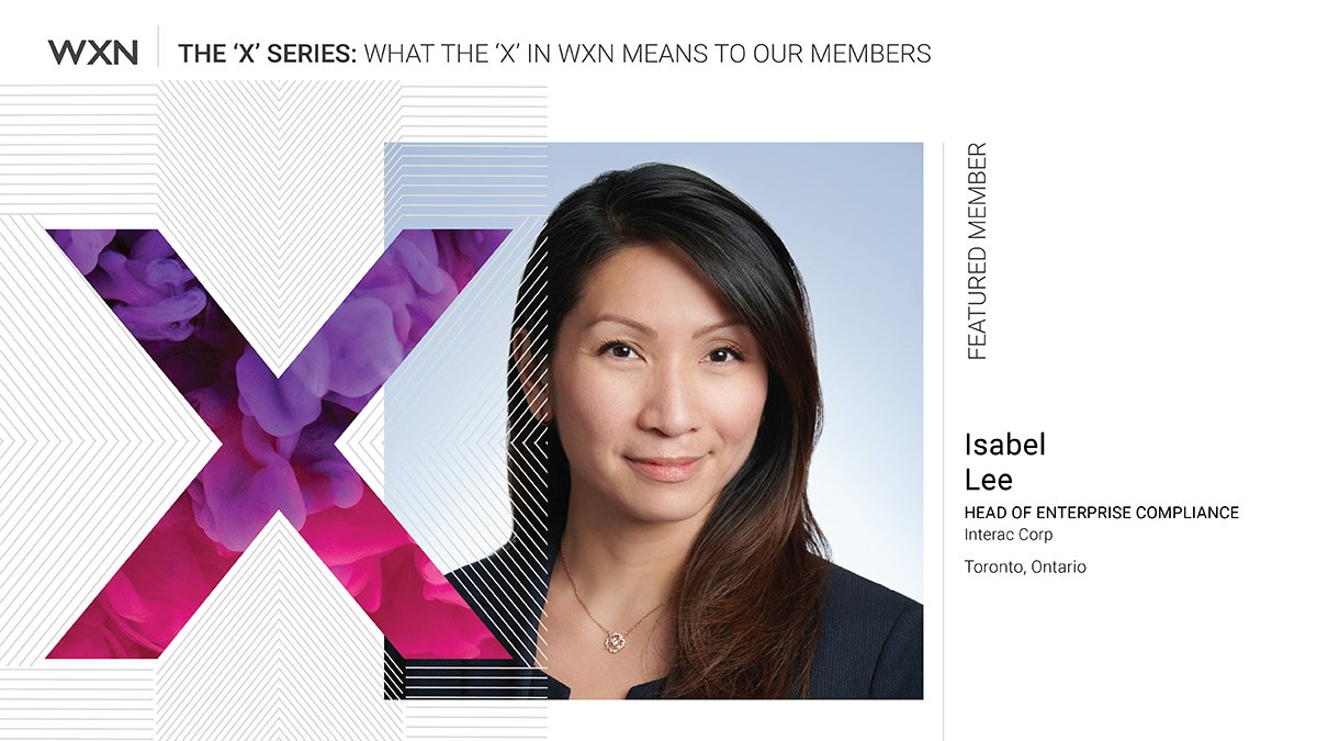 """Know that one day, suddenly, a picture will fall together – and that feeling is unbeatable…"" – Isabel Lee, Head, Enterprise Compliance, Interac Corp and one of our WXN Members. Read our latest blog, an interview with Isabel: https://t.co/f9ieRjMNMT @INTERAC https://t.co/GN6uNW3qJe"