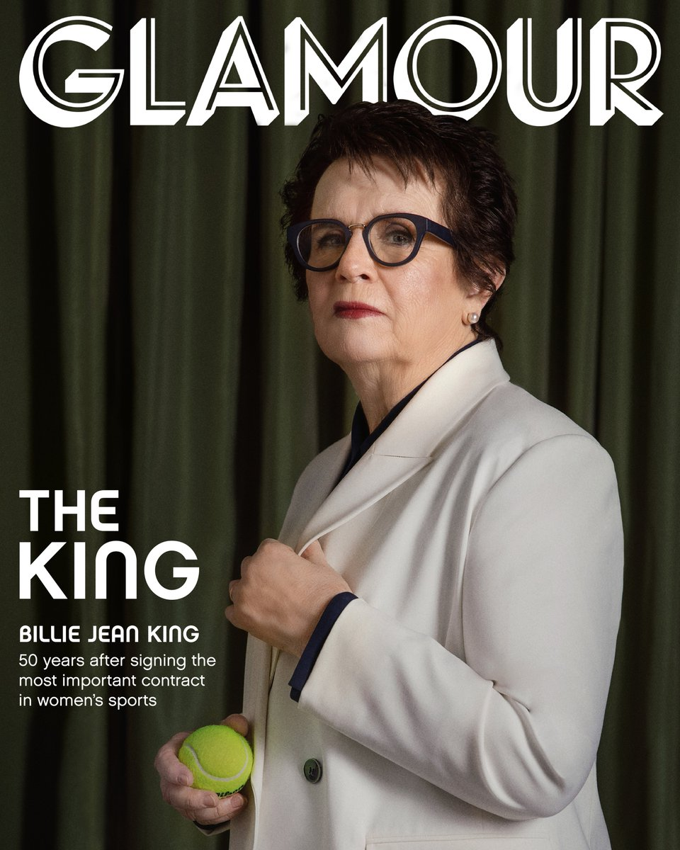 Fifty years to the date after signing one of the most lucrative—and consequential—contracts in sports, @BillieJeanKing is still fighting for more. (A THREAD) 🎾 https://t.co/6ppc5FFcmR https://t.co/xp5mJTktg1