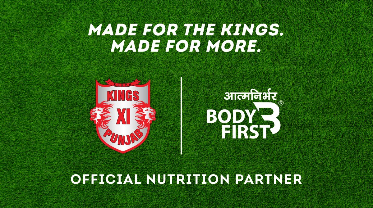 This is such a heartening association! Delighted that @lionsdenkxip has trusted Team @BodyFirstWellne with their nutrition. Massive stamp of approval for everything BF represents & stands for! Let's make this count ✊ #MadeForMore #SaddaPunjab #Dream11IPL @realpreityzinta https://t.co/OVZ5Q63N4l