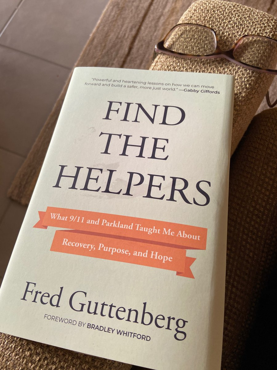 Getting messages from all over the country.  Books are arriving.  Looking forward to hearing from people after they read Find The Helpers.  #FindTheHelpers https://t.co/ffeZT4F12c