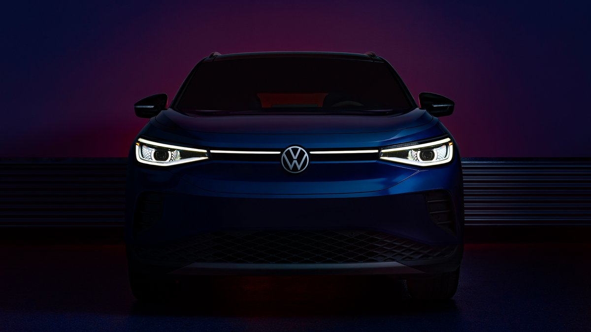 Kicking off the morning with some exciting news from our Presenting Partner @VW as they launch their all-electric SUV! #VWPartner Tune in for the #ID4 reveal at 11AM ET go.vw.com/ID4USS_YT