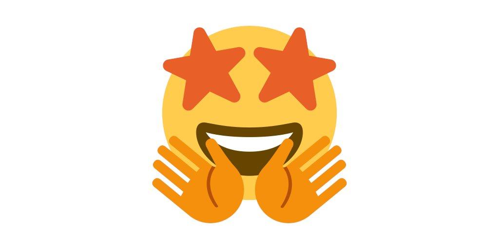🤩 (Star struck) + 🤗 (Hugs) =  #Emoji #CaptionThis https://t.co/WXXNYMBCH1 https://t.co/JdpBkrUHIi