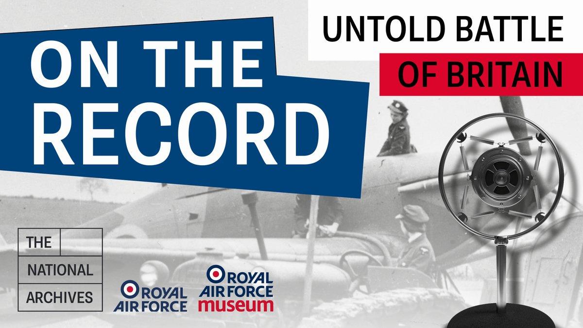 The Untold #BattleofBritain podcast from @UkNatArchives is well worth a listen.  Thanks @RoyalAirForce #mcindoe #thetownthatdidntstare https://t.co/NnhasyAiTg