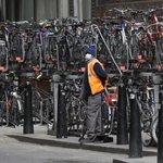 Image for the Tweet beginning: Brits on bikes: Millions take