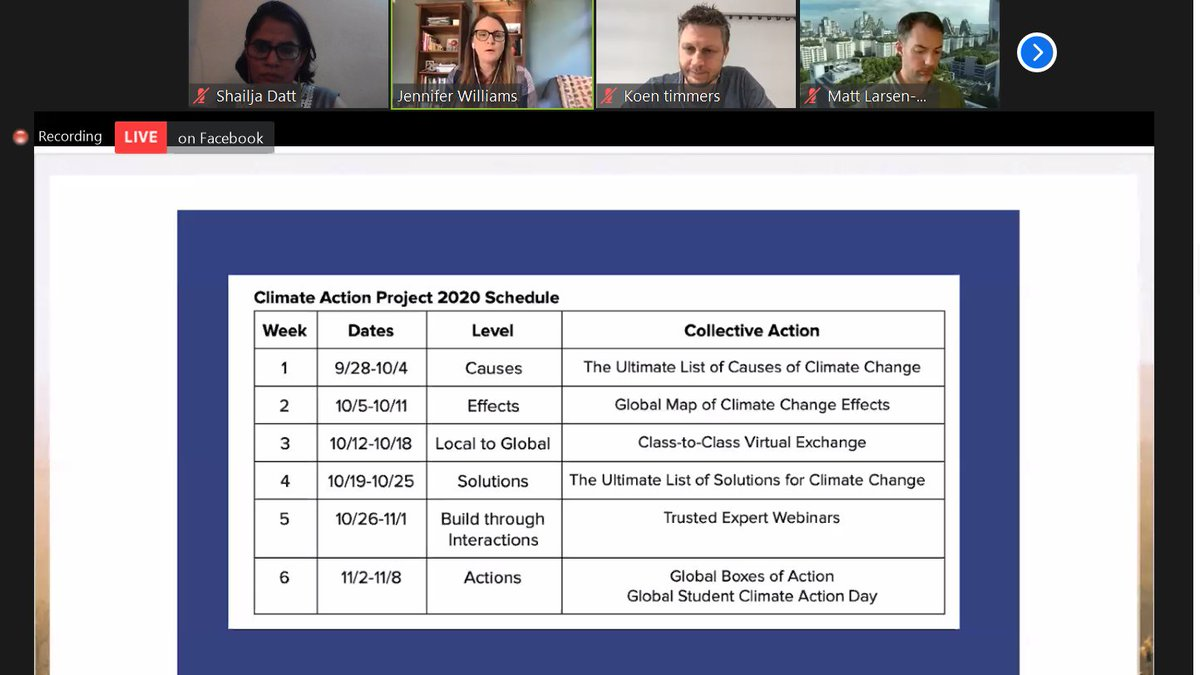 Excited to be part of #climateactionp. Looking forward to collaborate with amazing educators and students around the world and together finding solutions. #pypatGGS @ClimateActionED @climateactionp2020  #SDGs  @ibpyp  #ChangeTheWorld #IBtogether https://t.co/pImxZOEVEQ