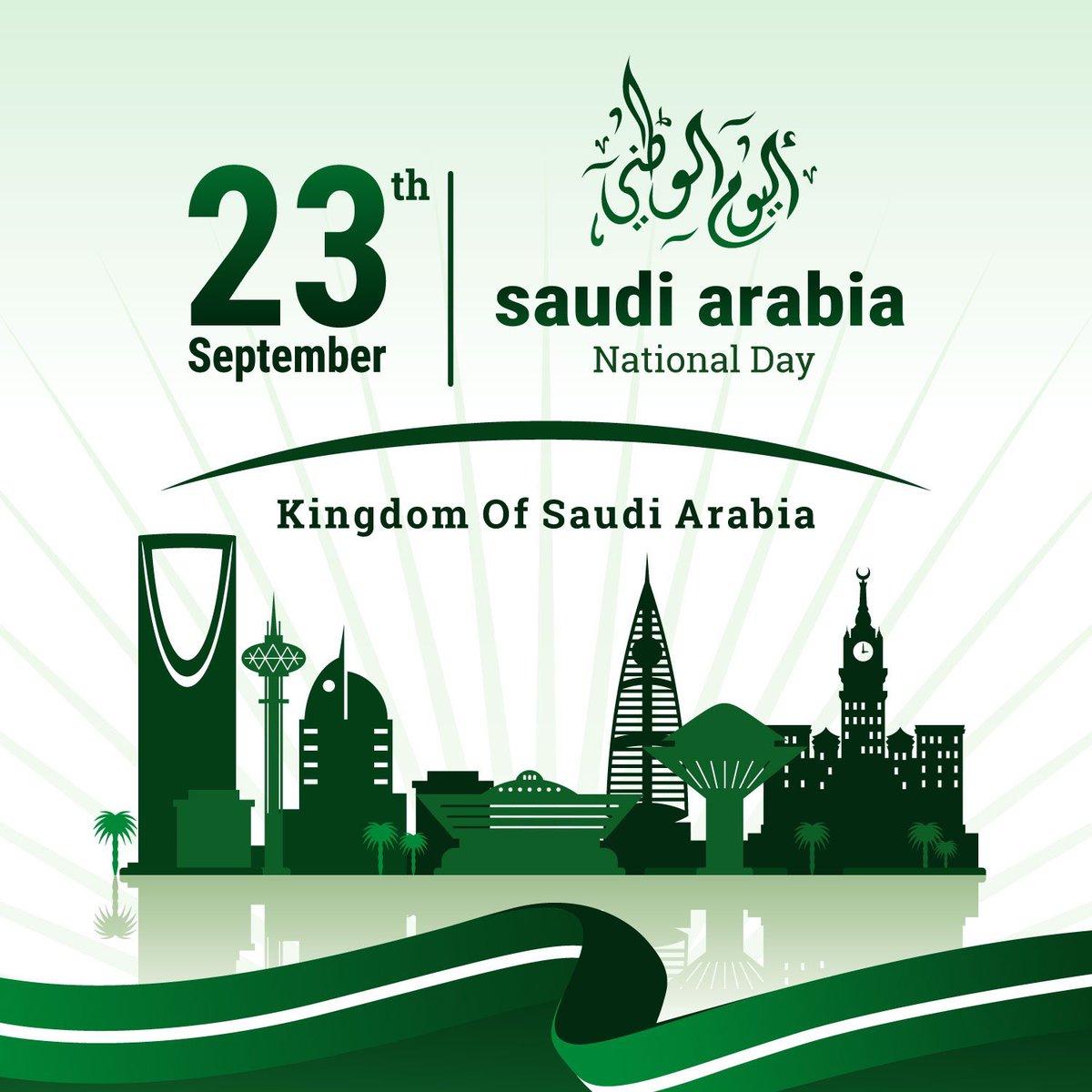 أطيب التمنيات لجميع أصدقائنا في #السعودية بمناسبة #اليوم_الوطني_السعودي90 احتفالا بمرور 90 سنة منذ توحيد المملكة. @UKinSaudiArabia @SaudiEmbassyUK https://t.co/FBpQEXWnq9