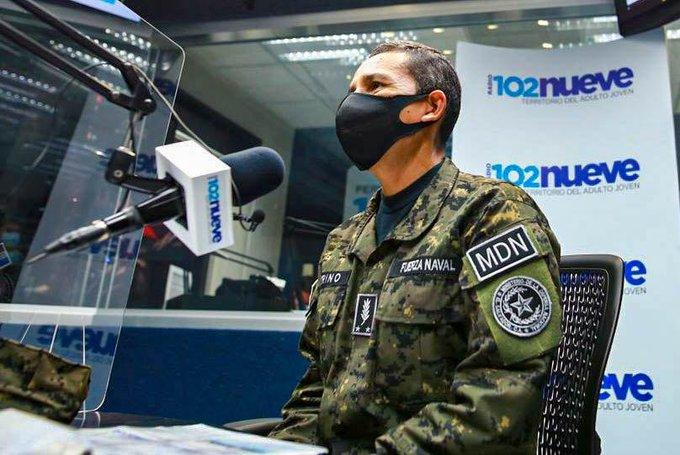 Ministro de Defensa elude preguntas de la prensa  sobre bloqueo a los archivos militares