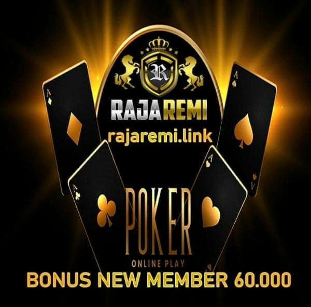 Rajaremi situs poker terpercaya.  -Minimal deposit 10.00  -Bonus new member 60.000  Website : https://t.co/Oo4jXeRF0q  #poker88 #pokerv #rajaremi #dewapoker #nagapoker #pokerace99 #agenpokerterpercaya #pokeronline  #ceme #bandarpokeronline #PuraPuraBahagia https://t.co/s2lNxsa0XX https://t.co/BSapzDEyLy