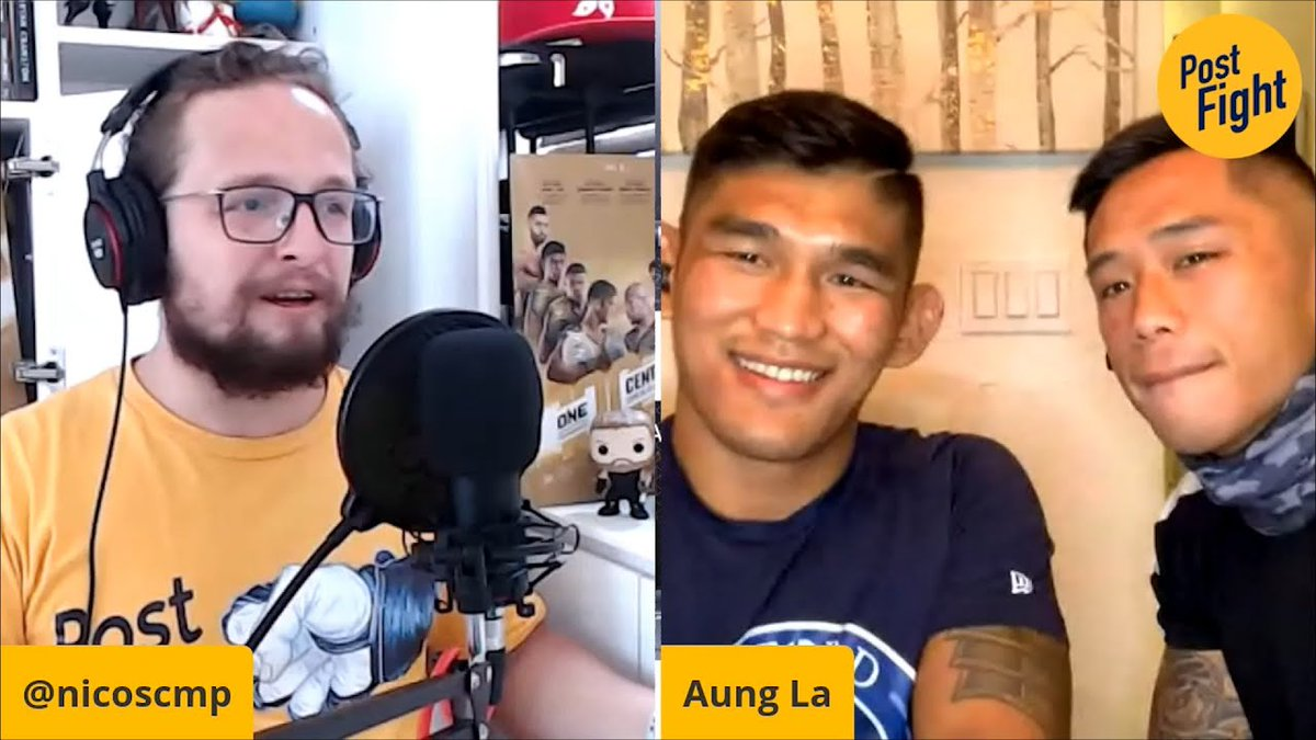 ONE middleweight and light heavyweight king Aung La Nsang, & featherweight champ Martin Nguyen, join SCMP MMA's @NicoSCMP on Post Fight from Aung's home in Florida, where they are in fight camp at @MmaSanford for their upcoming title defences.   📺https://t.co/uu5gVwbW3e https://t.co/oOdNbhQVmr