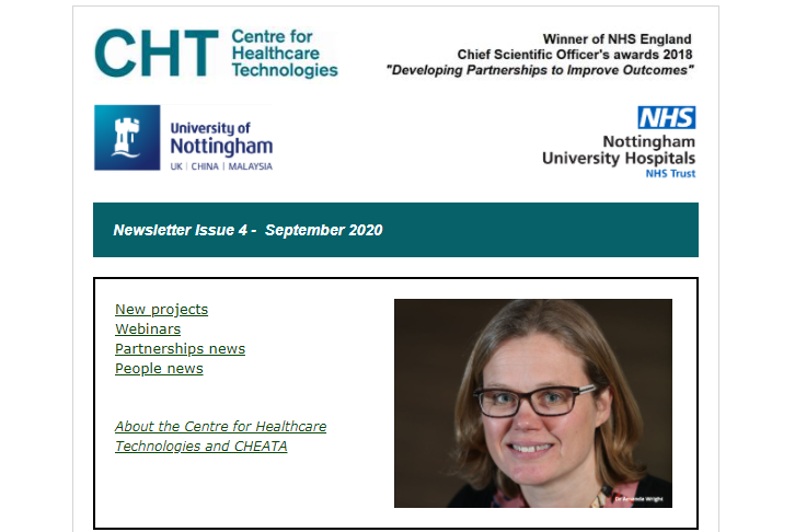 Our latest newsletter is out -featuring  @UoNEngineering @MedicineUoN @hearingnihr @cypmedtech @UoN_Pharmacy @UoNresearch @QMC_CHEATA @MTIF_UK @ResearchNuh @NRCrehabUK @UoNComputerSci   https://t.co/c27NOLANR2 https://t.co/LOOnrhN1a5