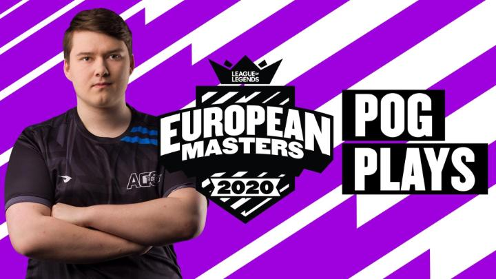 EUMasters - The absolute best of #EUMasters Summer 2020:  Here are the Top 5 Pog Plays from the Tournament!