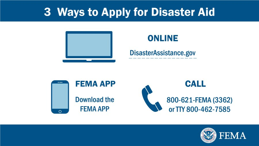 #Michigan: Only one week remains to register for #FEMA assistance for survivors impacted by the dam failures and flooding in May. The deadline is September 30! Visit https://t.co/63Z2EOhrpu or call 800-621-3362 to get started. https://t.co/pE1CRuzdMz