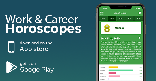 Get #Cancer work & career horoscopes with our new app: Work Horoscopes. Available on App Store and Google Play. Download from => https://t.co/BSsAtStVmF https://t.co/ReWZRGnJ3H