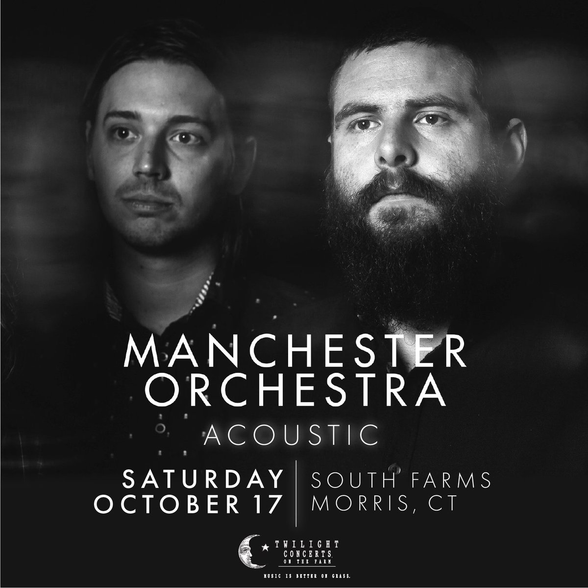 We are excited to play our first (and most likely last) show of the year. Join us for a unique stripped down performance Saturday, October 17 at South Farms in Morris, CT – get your tickets while you can!  Tickets go on sale tomorrow, Sept. 24 at 10am ET: https://t.co/0KK7dfyaXQ https://t.co/Bbzq6jCoRa