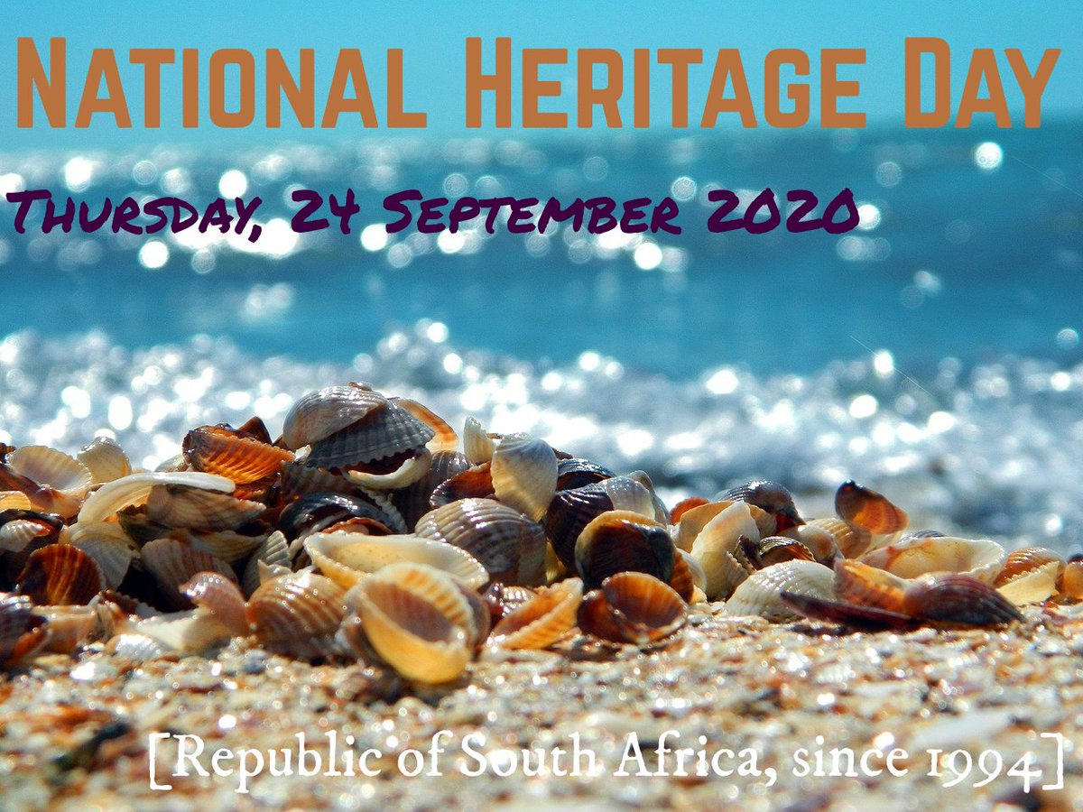 Heritage Day in South Africa is celebrated as National Braai Day, so enjoy your BBQ & remember to remain vigilant and cautious as it's still Lockdown Alert Level 1. To date 16 000 South Africans have died due to Covid-19 alone. I will light a candle & observe a moment of silence. https://t.co/WB3PiMII9r