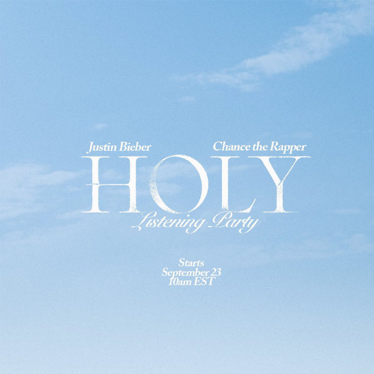#Holy listening party all day today. See u in there https://t.co/R98F2Eio5c https://t.co/c8Vlw7utUF