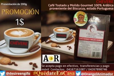 #23Sept | Publica y Aumenta tus Ventas con A☀️R  | Café Gourmet Chévere 200g 100% venezolanos Contactos: 04167161087 / 04267898746 https://t.co/98TVC0DZbp Fuerte Tiuna #CiudadTiuna #FuerteTiuna ? Venezolanos #emprendedores #emprendedor #Venezuela #23DeSeptiembre Bono Unidos https://t.co/Tt8WQROXXs