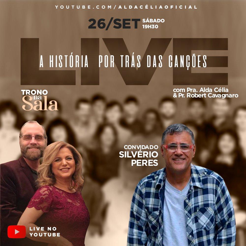 Uma live histórica com nossos precursores da música cristã! @aldacelila e @silverioperes2   Você conectado com o mundo!  #show #artista #conferencia #music #appemusic #comunica #plataforma #arte #gude #gudecomunica #gudecomunicacao #gudeassessoria #gudeproducoes #gudevibes https://t.co/1pcHZXmLv5