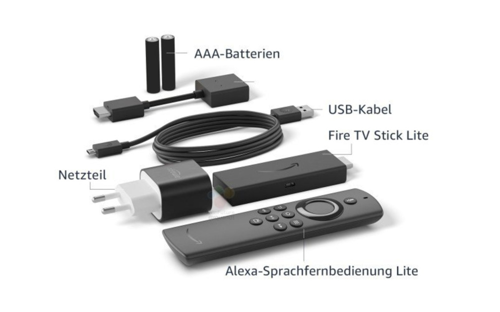 Amazon Fire TV Stick Lite leaks ahead of tomorrow's hardware event