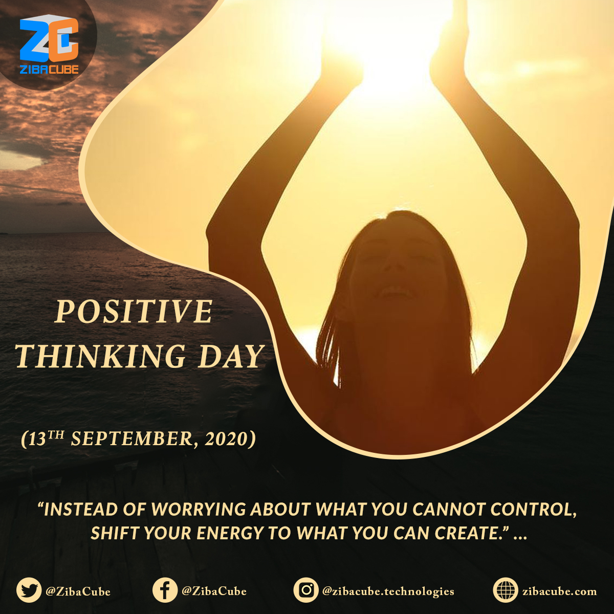 #PositiveThinkingDay is a time set aside each year to concentrate on all things #positive 🤞 . . #PositiveThinking #PositiveThoughts #PositiveVibes #Positivity #PositiveEnergy #Mindfulness #AllYouNeedIsPositivity #PositiveVibesOnly #TrendThePositive #DM #SEO #SMM #WeAreZibacubers https://t.co/YaKPiGirKb