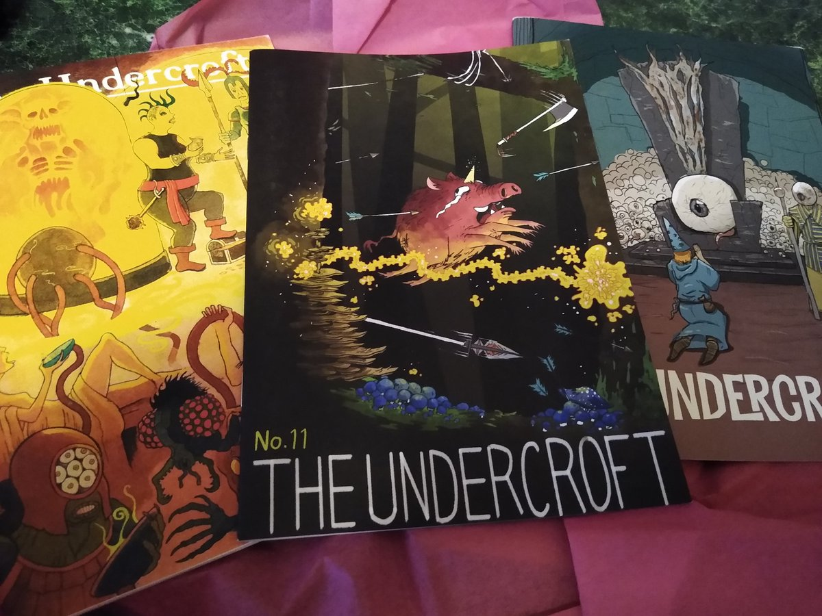 Good looking set of @MelsonianArts #rpg zines from across the pond https://t.co/nLyHjwJE7v